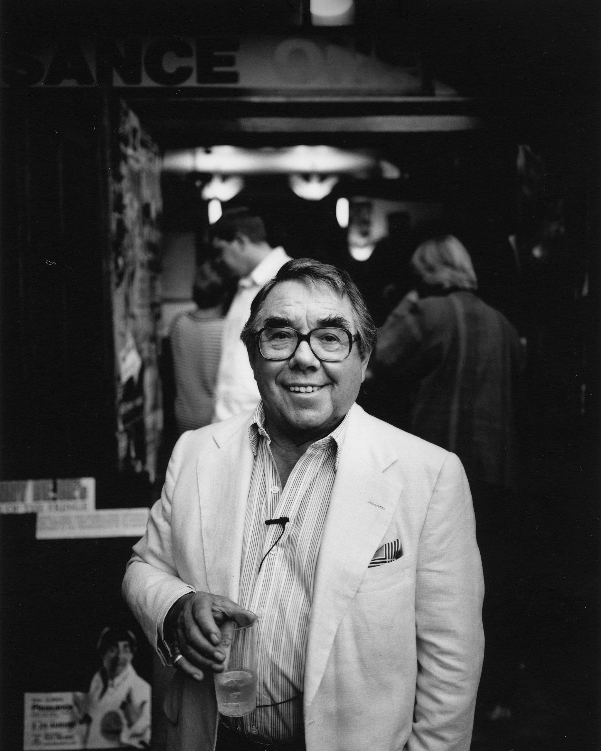 portrait of comedian Ronnie Corbett